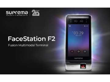 Новая Suprema FaceStation F2